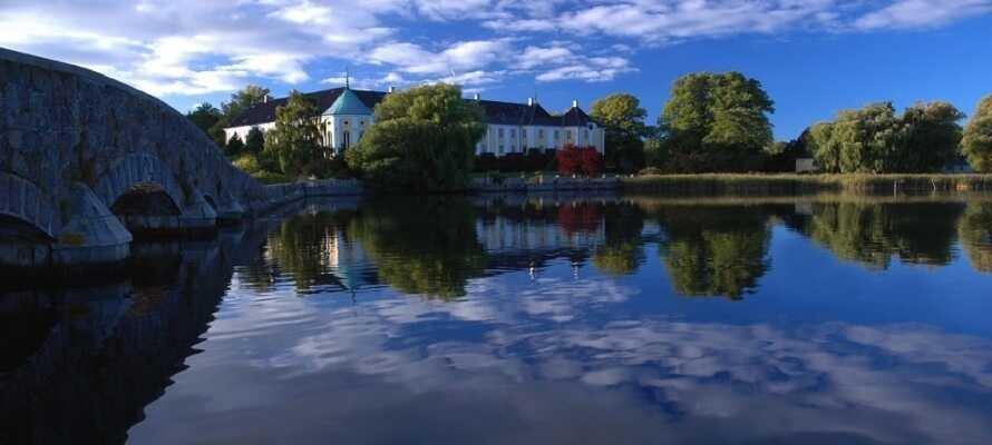 Gavnø Slotspark kaldes Danmarks smukkeste have.