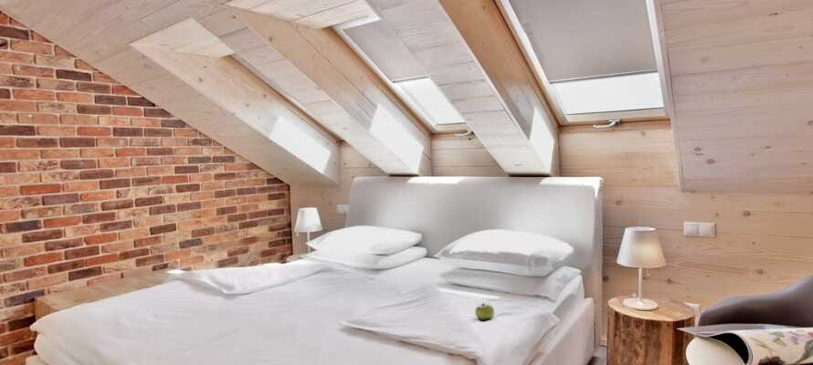 Hotellet er designet og indrettet, så gæsterne kan føle sig hjemme.
